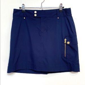 Ralp Lauren Navy Golf Skirt